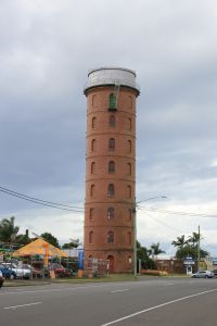 East Water Tower (2009); Heritage Branch staff