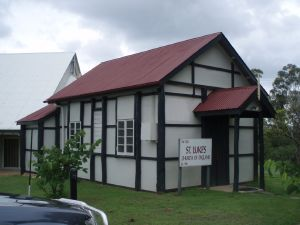 St Luke's Anglican Church  (2009); Heritage Branch staff