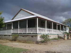 Langmorn Homestead (2009); Heritage Branch staff