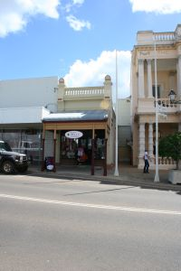 Lyall's Jewellery Shop (2010); Heritage Branch staff