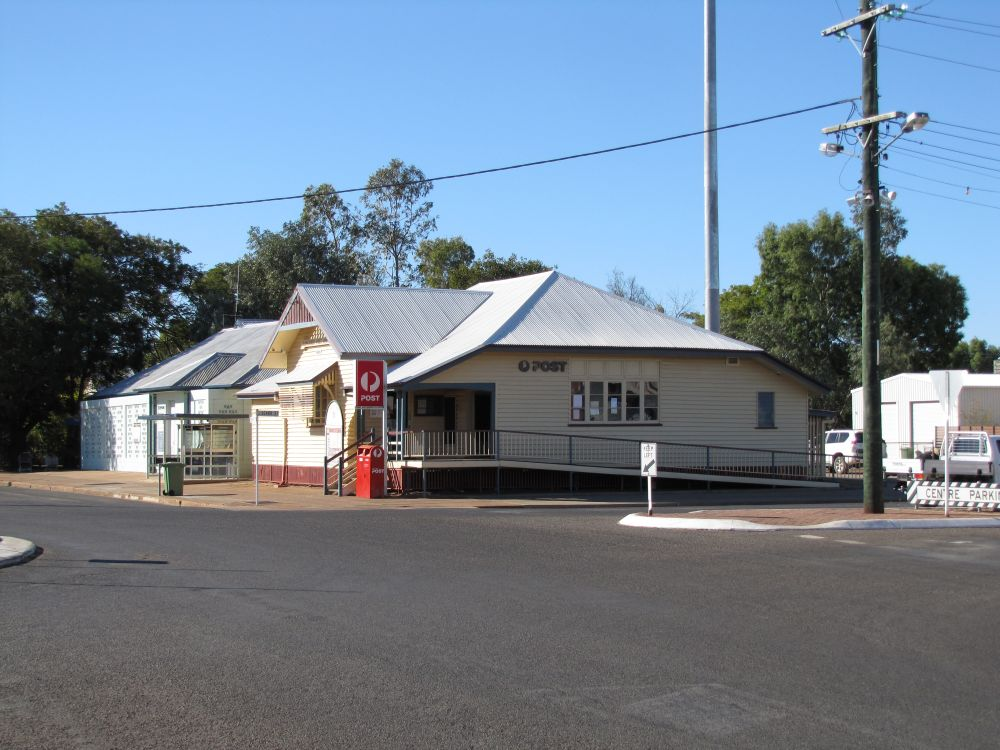 Cloncurry Post Office Environment Land And Water