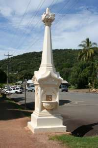 Mary Watson's Monument (2010); Heritage Branch staff