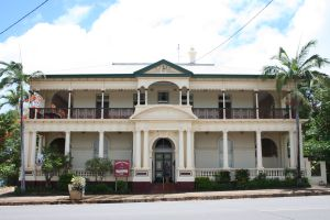 Westpac Bank, Cooktown (2008); Heritage Branch staff