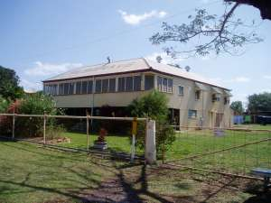 Musgrave Telegraph Station (former) (2003); Heritage Branch staff