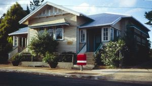 Yungaburra Post Office and residence (1992); Heritage Branch staff