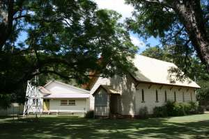 St Agnes Rectory and Church (2008); Heritage Branch staff