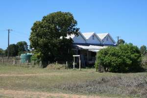 Station Master's Residence, Einasleigh (former), from S (2008); Heritage Branch staff