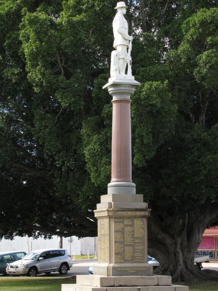 Goondiwindi War Memorial Environment Land And Water