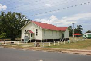 United Welsh Church, Blackstone - from S (2009); Heritage Branch staff