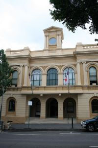 Old Town Hall (2009); Heritage Branch staff