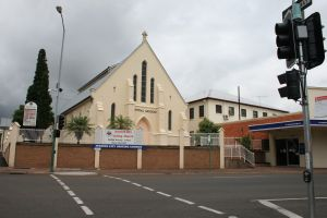 Ipswich Central Mission - Wesleyan Chapel (2009); Heritage Branch staff