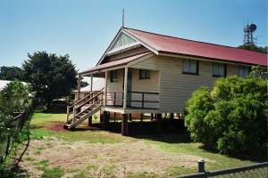 Childers Court House (2005); Heritage Branch staff
