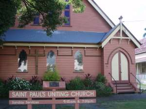 St Pauls Uniting Church (2009); Heritage Branch staff