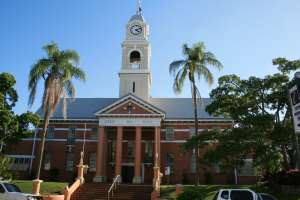 Maryborough City Hall, from NE (2009); Heritage Branch staff