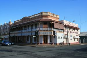 Hotel Francis (former) (2009); Heritage Branch staff