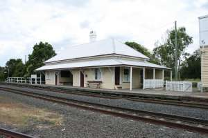 Grandchester Railway Complex, from NW (2009); Heritage Branch