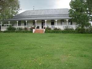 Normanby Homestead (2008); Heritage Branch staff