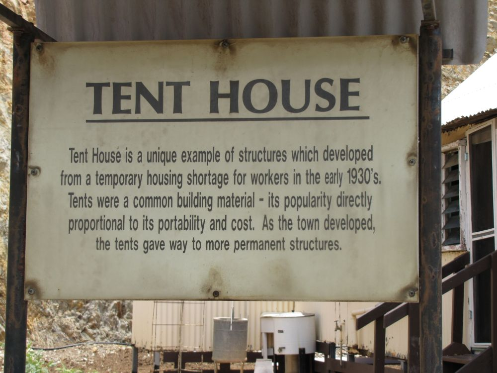 Tent House Mount Isa Environment Land And Water