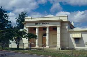 Court House and Police Station (1994); Heritage Branch staff
