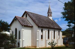 St Pauls Anglican Church (1992); Heritage Branch staff