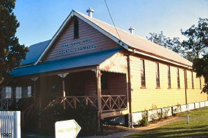 Pine Rivers Shire Hall (former) (1992); Heritage Branch staff