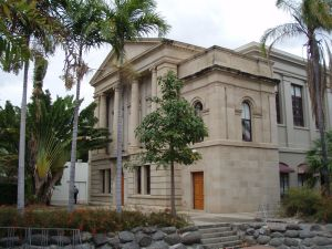 Rockhampton Court and Administrative Complex; Heritage Branch staff