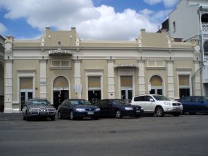 Cahill's Stores (former) (2009); Heritage Branch staff
