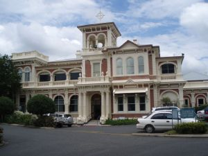 Kenmore House, Mater Misericordiae Hospital (2009); Heritage Branch staff