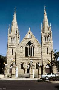 St Josephs Cathedral (1994); Heritage Branch staff