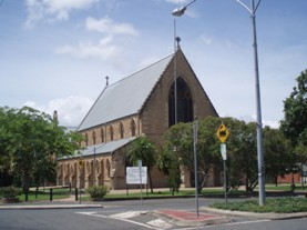 St Paul's Anglican Cathedral (2009); Heritage Branch staff
