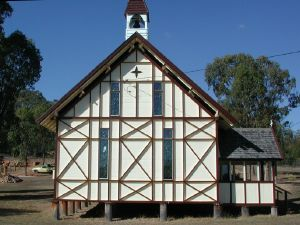 St Augustines Anglican Church, Leyburn (2005); Heritage Branch staff