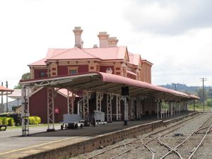 Toowoomba Railway Station, Honour Board and Railway Yard Structures (2012); Vic Bushing