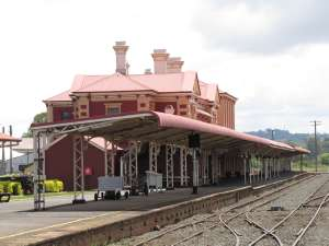Toowoomba Railway Station, Honour Board and Railway Yard Structures, 2012, (EHP); Vic Bushing