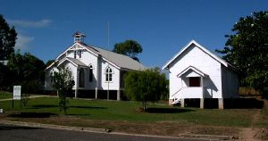 St John's Anglican Church Church and Hall (2003); Heritage Branch staff