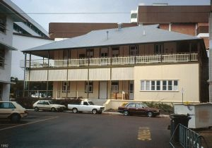 James Cook University Department of Public Health and Tropical Medicine Building (1992); Heritage Branch staff