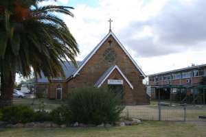 St Mary's Church (former) (2008); Heritage Branch staff