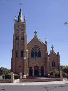 St Mary's Church (1995); Heritage Branch staff