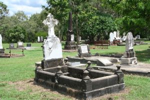 Cooktown Cemetery (2010); Heritage Branch staff
