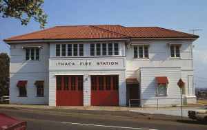 Ithaca Fire Station (former) (1992); Heritage Branch staff