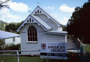 St George's Anglican Church (1997); Heritage Branch staff
