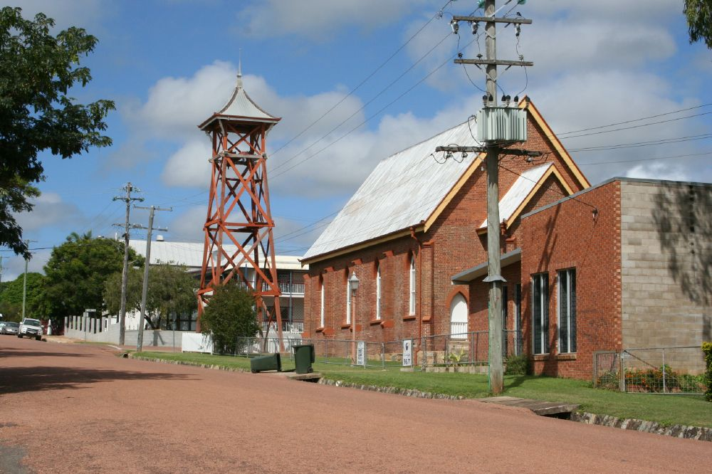 Church Of Christ Charters Towers Environment Land And