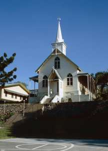 Our Lady of the Sacred Heart Church (2001); Heritage Branch staff