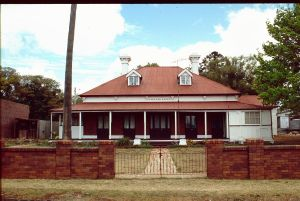 Carlton House (1994); Heritage Branch staff
