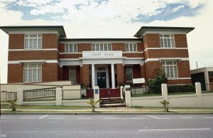 Gladstone Court House (1998); Heritage Branch staff