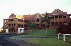 Nazareth House, from S (2000); Heritage Branch staff