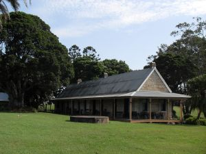 Wolston House from E (2009); Heritage Branch staff