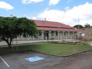 Holy Cross Laundry (2007); Heritage Branch staff