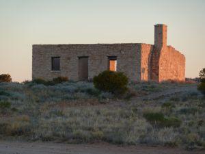 Carcory Homestead Ruin, from N (2011); Heritage Branch staff