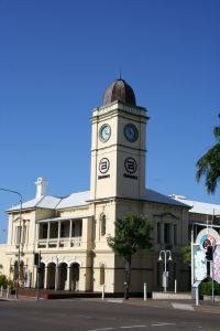 Townsville Post Office (former) (2009); Heritage Branch staff
